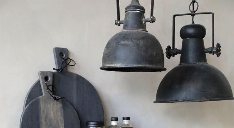 Fransk køkkenlampe