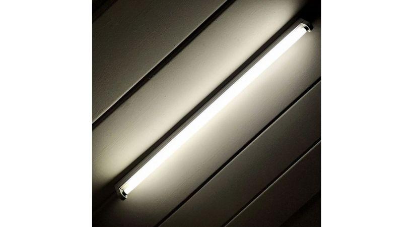 Køkkenlampe med lysstofrør - Industriel