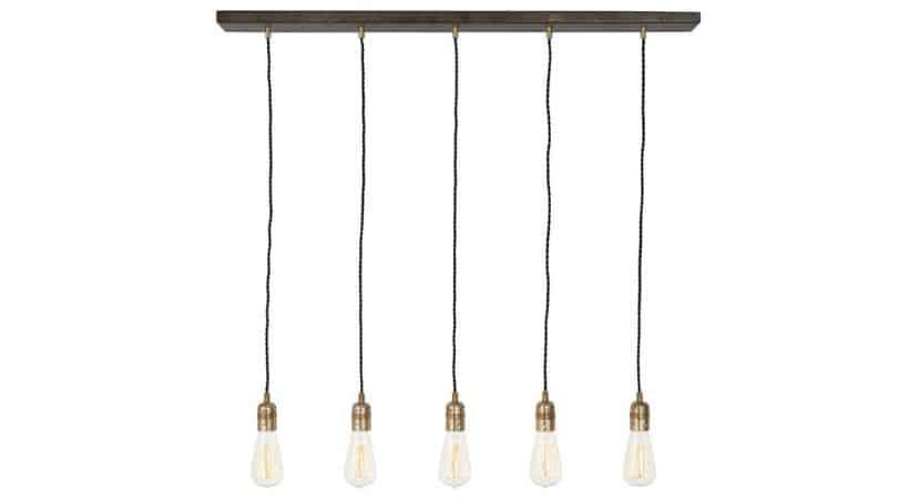 Rustik køkkenlampe - Landstil