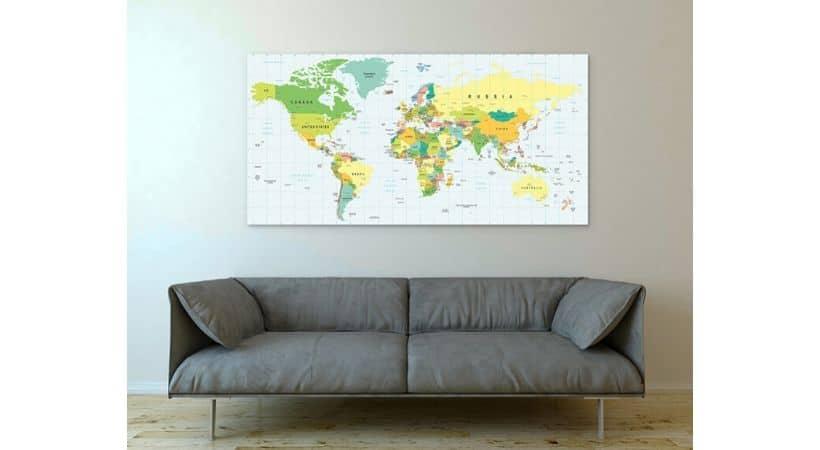 Stort verdenskort