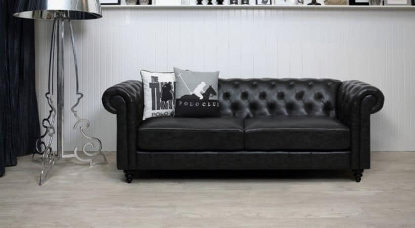 3-personers Chesterfield-sofa - Antik