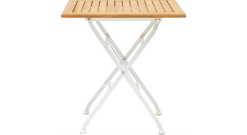 Klapbord til altan - Teak-træ