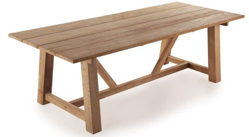 Planke havebord