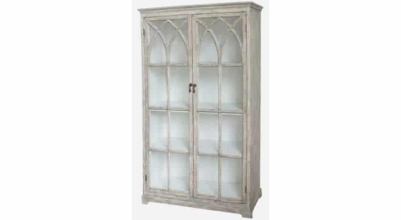 Antikt vitrineskab - Vitrine i retro design