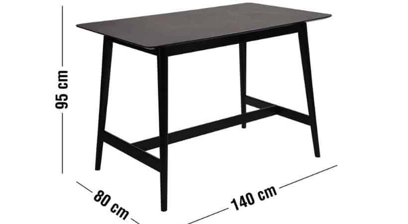 Barbord med keramisk bordplade
