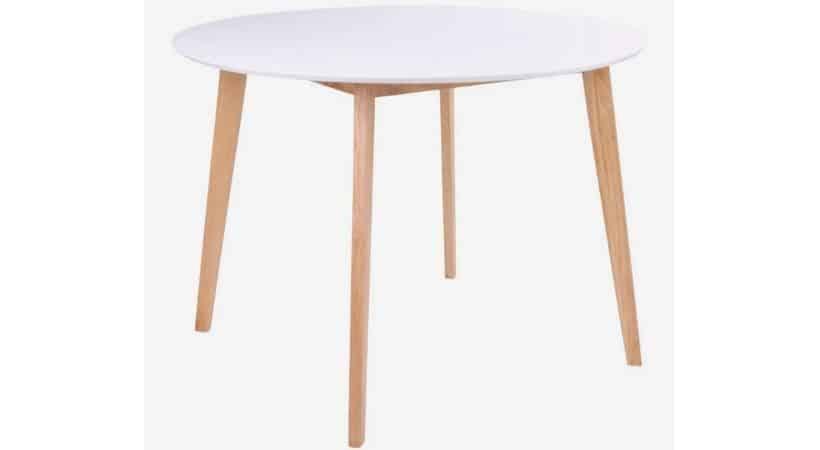 Billigt rundt spisebord