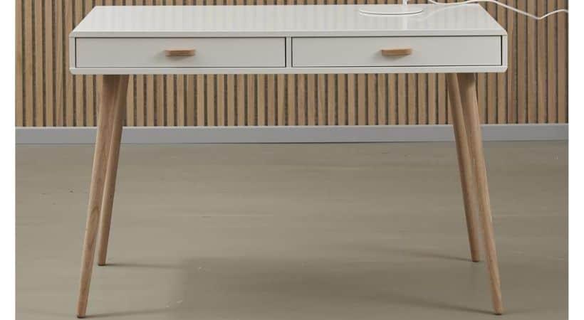 Hvidt kontorbord - Mino