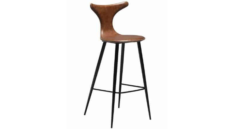 Barstol til køkken - Med ryg