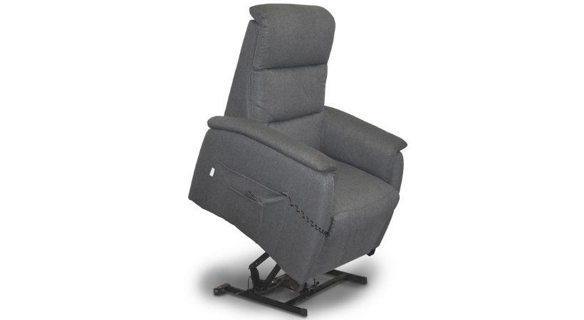 Lænestol med sædeløft