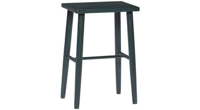 Lav grøn barstol