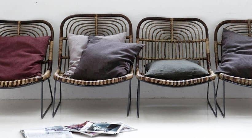Lounge lænestol i bambus - House Doctor