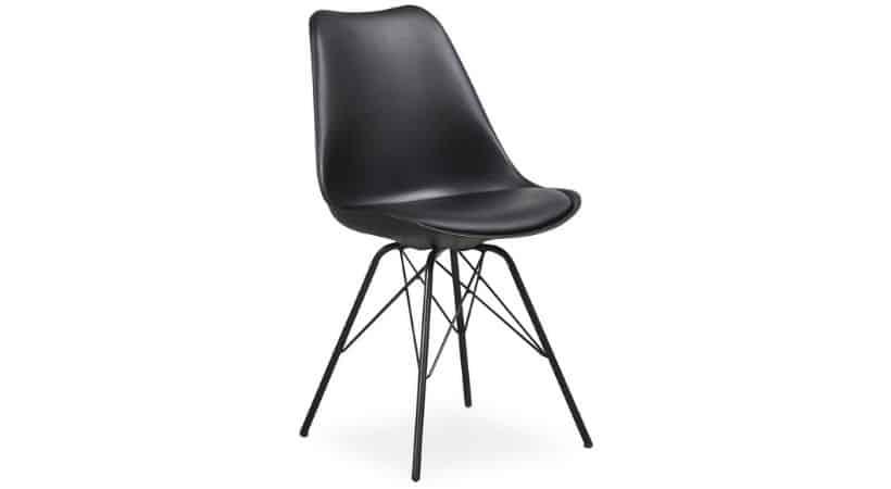 Moderne spisebordsstole i formstøbt plast