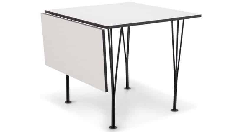 Smart lille spisebord med klap