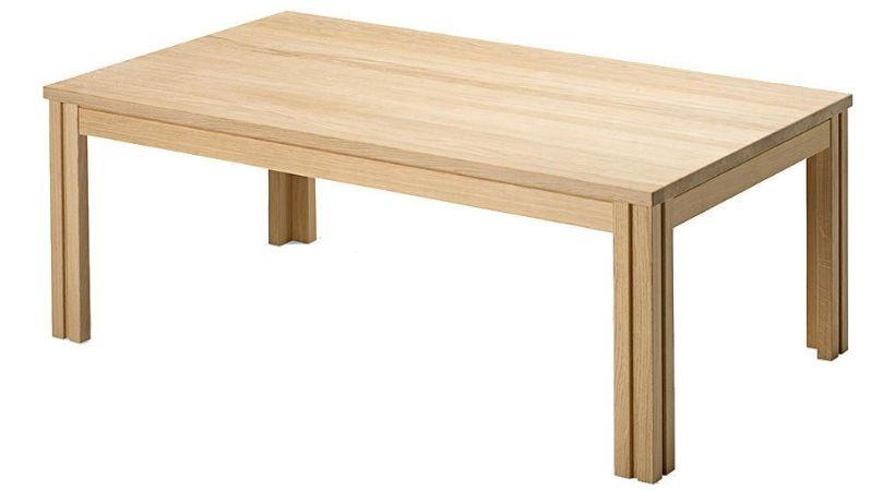 Sofabord i sæbebehandlet egetræ - Skovby