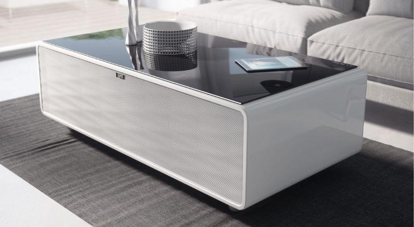 Sofabord med køleskab - Caso