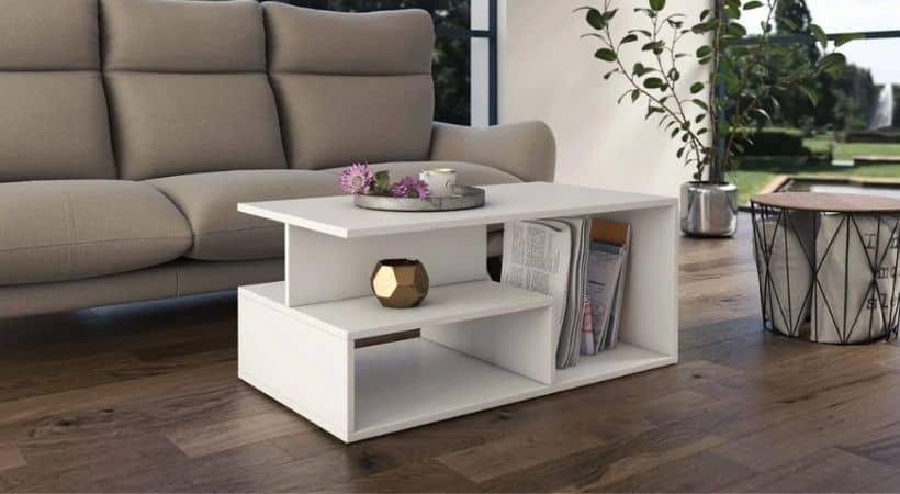 Sofabord med masser af opbevaringsplads - Prima