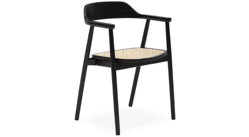 Spisebordsstole i flet - Fletsæde og bøg
