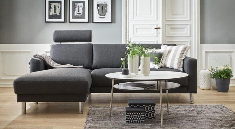 Billig chaiselong-sofa - Cleveland