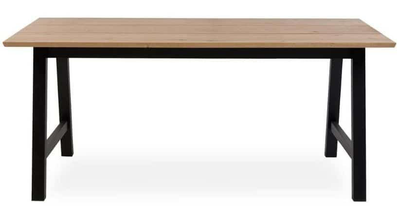 Billigt plankebord i lyst træ - Eg