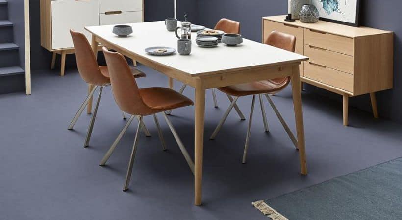 Curve spisebord - Simpelt design