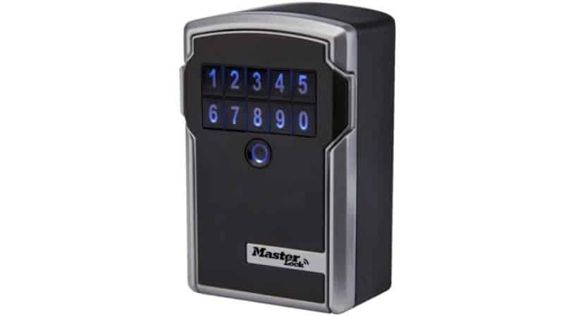 Digital nøgleboks - Åbnes med kode eller Bluetooth