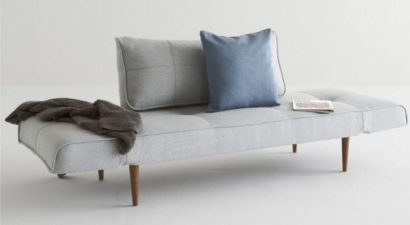 Grå Innovation Living daybed - Dansk design