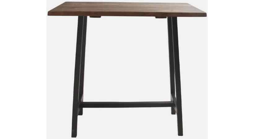Lille dansk plankebord - Med stel til både sofa- og barbord