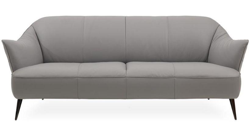 Lysegrå Natuzzi sofa