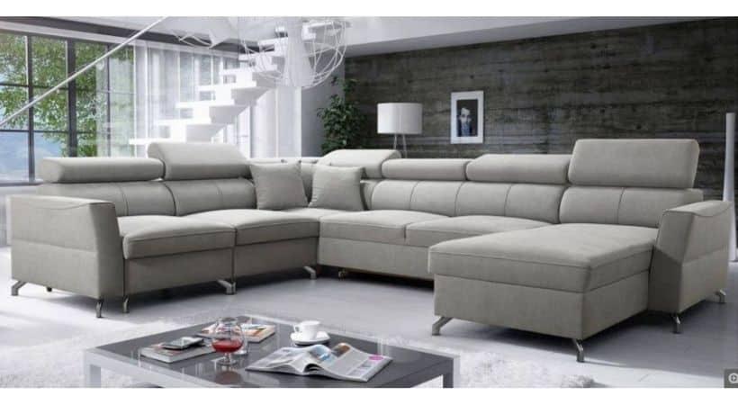 Manaya Brasso Grande II - Stor kombineret u-sofa & sovesofa