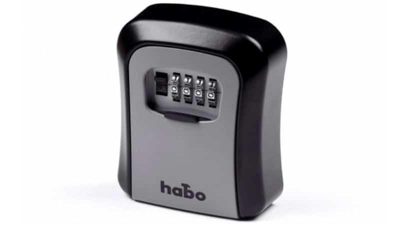 Nøgleboks med kodelås - Habo nøgleskab