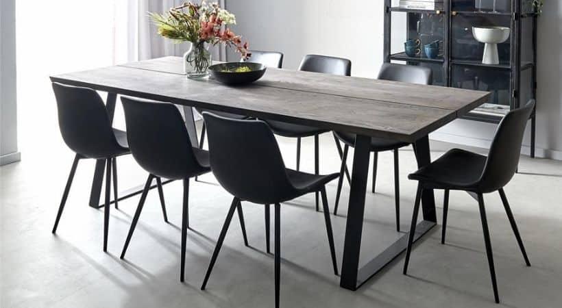 Råt og rustikt planke spisebord - Timber