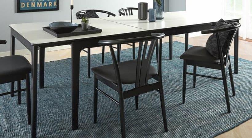 Skovby spisebord med tillægsplader - SM27