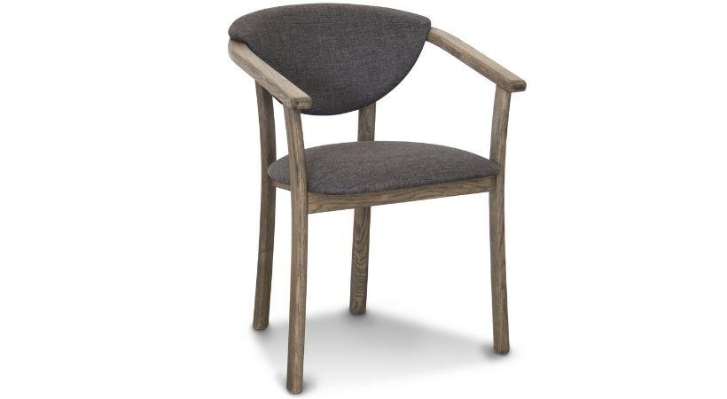 Spisebordsstole i slidstærkt stof - Derby