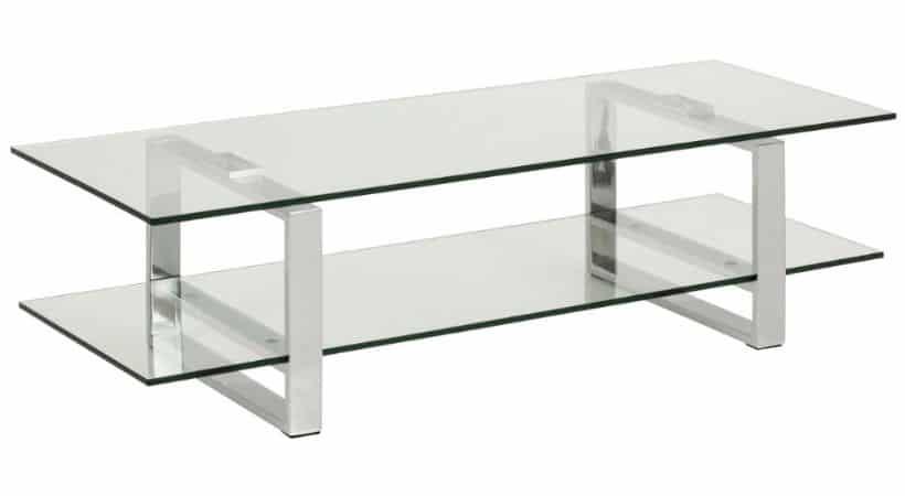 TV-bord i glas