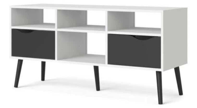 TV-bord med skuffer - Delta (ca. 120 cm)