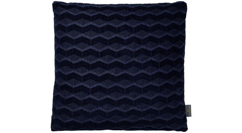 Blå designer-pude (Georg Jensen) - Perfekt som rygpude