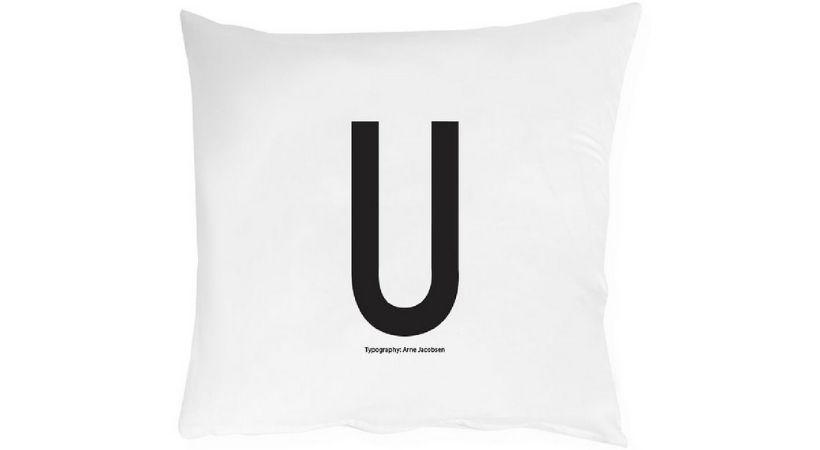 Design Letters pudebetræk - Med tekst