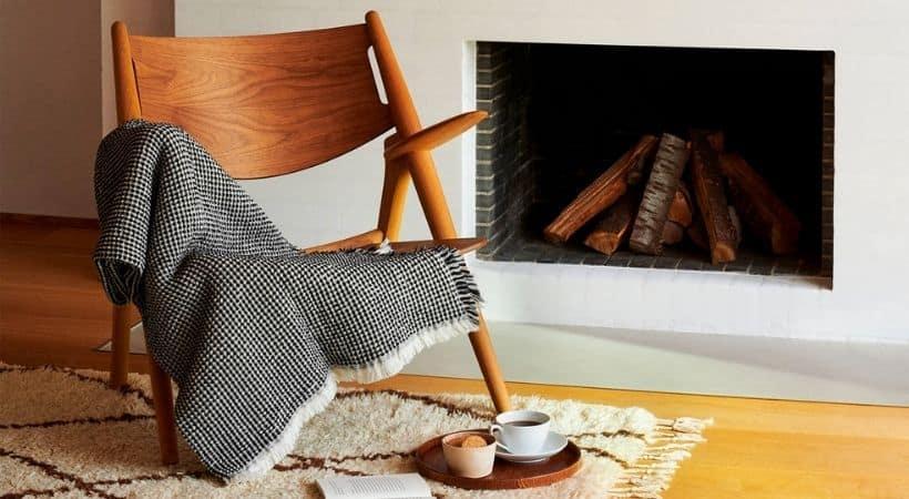 Georg Jensen Damask plaid - Lækkert tæppe til sofaen