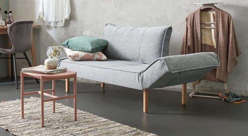 Grå Innovation Living daybed - Dansk design