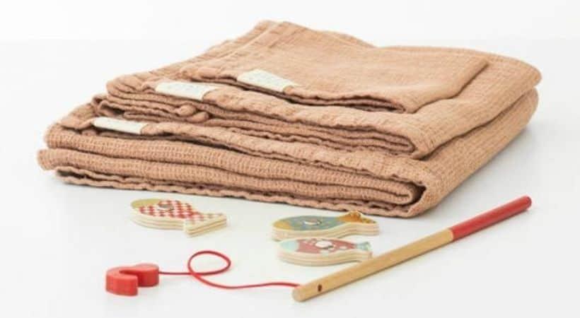 Håndklæde til børn og babyer - Økologisk