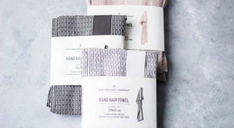 Håndklæde til håret