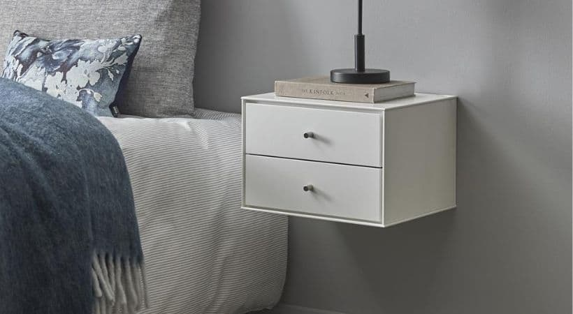 Sengebord til ophæng - Svævende natbord