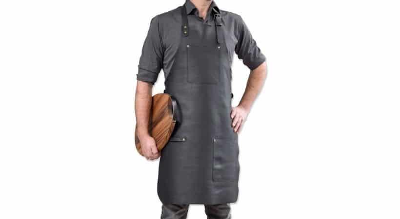 Stuff Design forklæde i læder