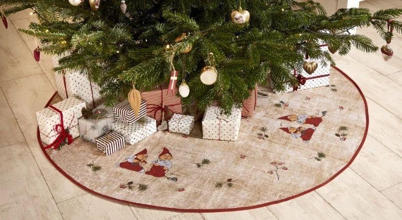 Etly Klarborg juletræstæppe - Rundt
