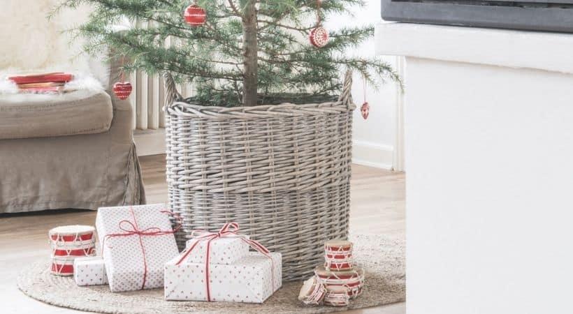 Lille Ib Laursen juletræstæppe - Jute
