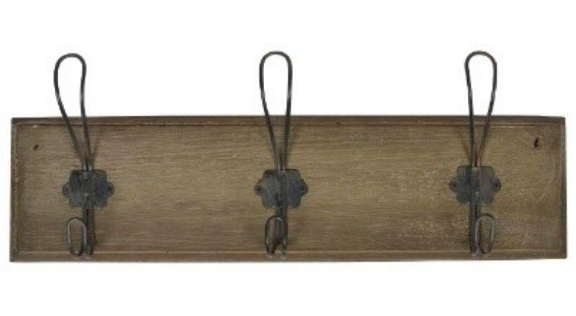 Gammeldags knagerække - Rustikt vintage-design fra Ib Laursen