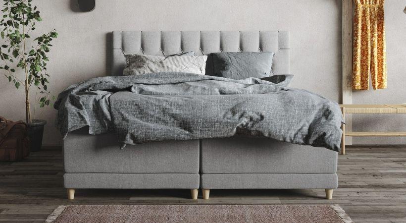 Hæve/sænke seng med gavl - Senses Nova