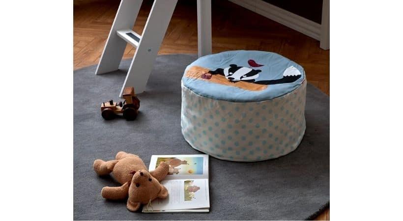 Lille sækkestol til børn - God til både drenge og piger