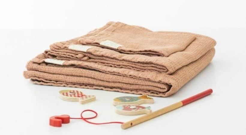 Lækkert badehåndklæde til børn