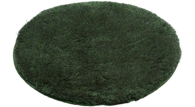 Rund bademåtte - Grøn